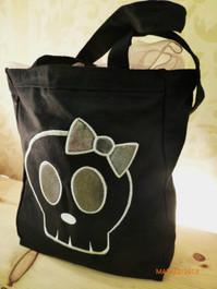 Skullsoap Logo Tote Bag