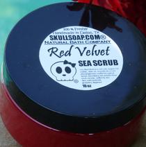 Red Velvet Sea Scrub