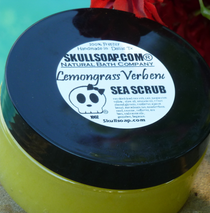 Lemongrass Verbena Sea Scrub