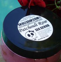 Patchouli Rose Sea Scrub