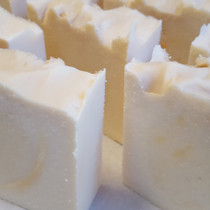 Peppermint Cream Goats Milk Bar Soap