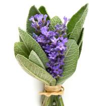 Lavender Sage Cream Pot