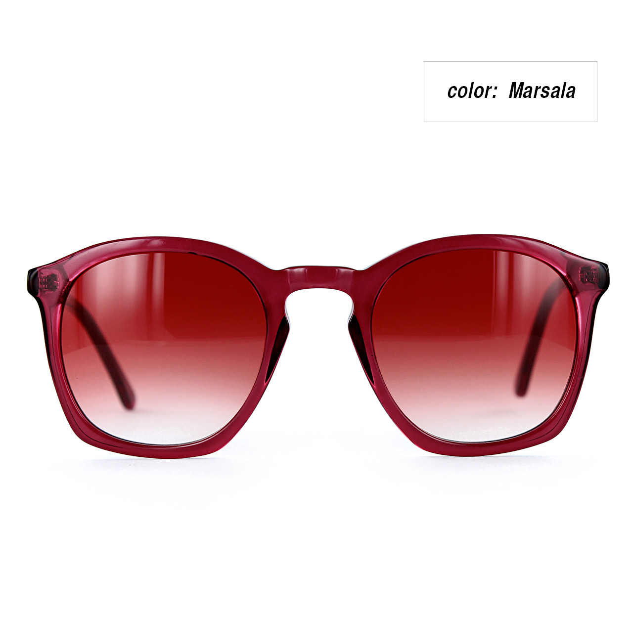 Rouq 4.0 Marsala with Gradient Marsala Lenses