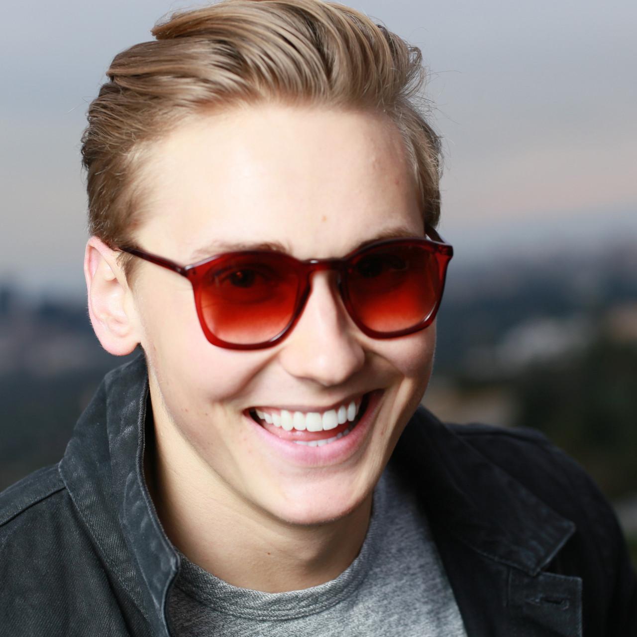 GEEK Eyewear GEEK ROUQ 4.0 Sunglass Marsala