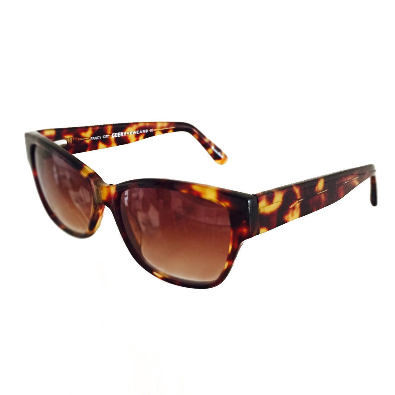 GEEK Eyewear style Fancy Cat Tortoise Sunglasses