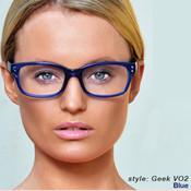 Geek Eyewear VO2 color: Blue As Seen In Vogue