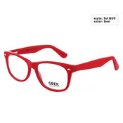 GEEK Eyewear GEEK DJ HOT Red Eyeglasses and Sunglasses