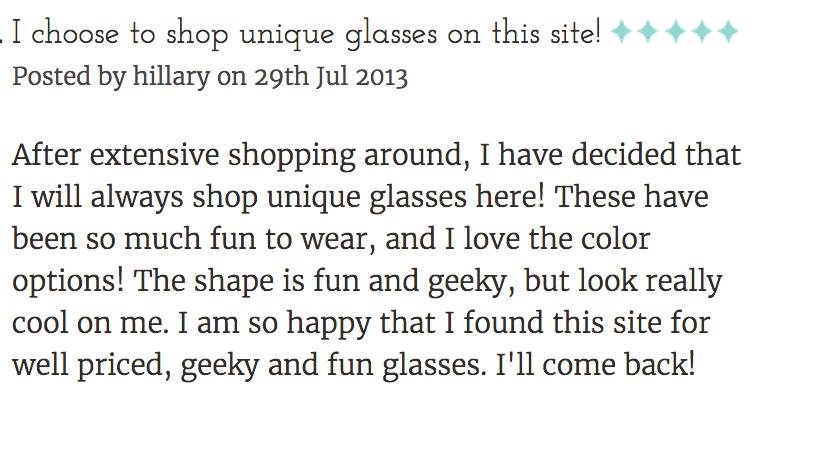Geek Eyewear style Harry Review by Hillary