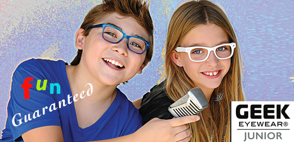 Geek Eyewear Junior Collection