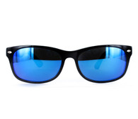 with Blue Mirror lenses