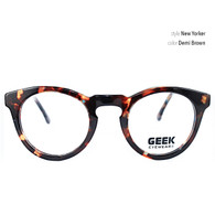 geek glasses style New Yorker