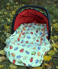 Peek A Boo Infant Car Seat Cover