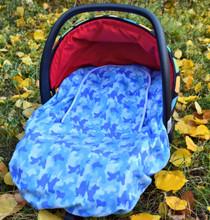 Peek A Boo Infant Car Seat Cover