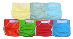 Baby Love Fitted All-in-One with Breathable Cover Cloth Diaper