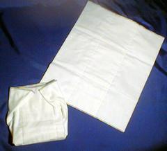 Prefolded Flannelette Cloth Diaper