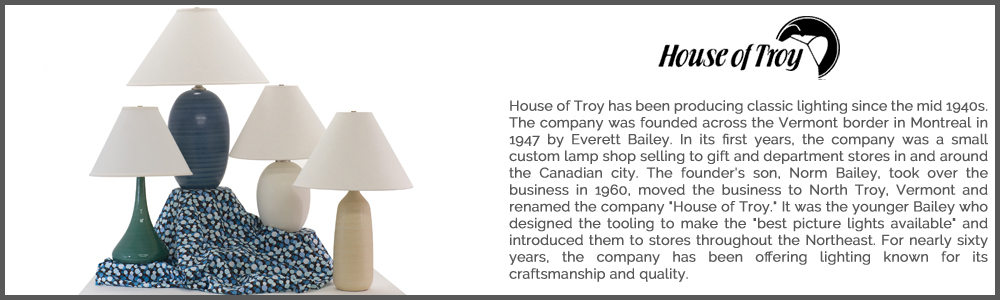 House of Troy Lighting