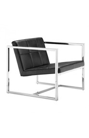 Zuo Modern Carbon Occasional Chair Black