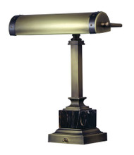"House of Troy Steamer 12"" Desk Lamp - Antique Brass"