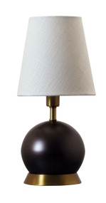 "House of Troy Geo 12"" Ball Mini Accent Lamp  - Mahogany Bronze"