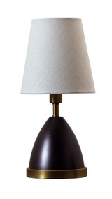 "House of Troy Geo 12"" Parabola Mini Accent Lamp  - Mahogany Bronze"