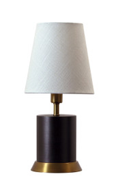 "House of Troy Geo 12"" Cylinder Mini Accent Lamp  - Mahogany Bronze"