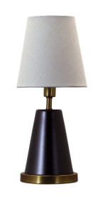 "House of Troy Geo 13"" Cone Mini Accent Lamp - Mahogany Bronze"