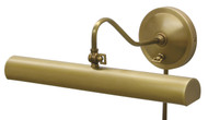 House of Troy Library Adjustable Wall Lamp - Weathered Brass