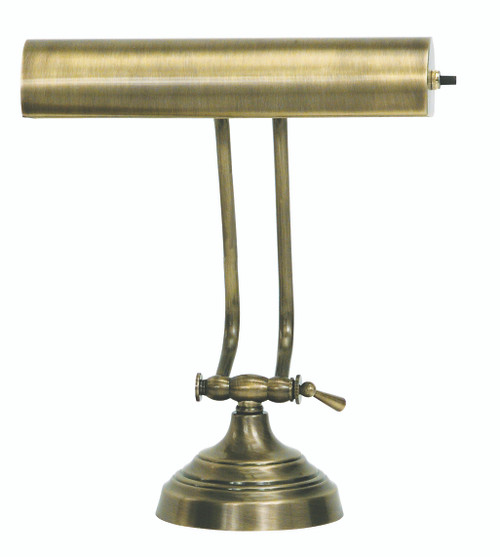 House of Troy Advent Desk/Piano Lamp - Antique Brass