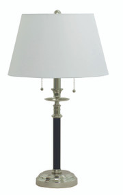House of Troy Bennington Table Lamp - Black