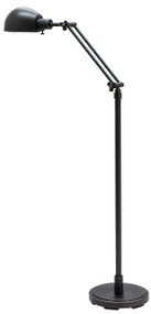 House of Troy Addison Adjustable Pharmacy Floor Lamp - Oil Rubbed Bronze