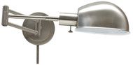 House of Troy Addison Pharmacy Wall Lamp - Satin Nickel