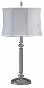 House of Troy Coach Table Lamp - Antique Silver
