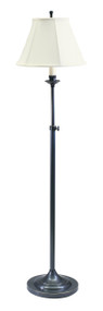 House of Troy Club Adjustable Floor Lamp - Oil Rubbed Bronze