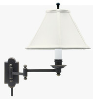 House of Troy Club Wall Swing Arm Lamp - Oil Rubbed Bronze
