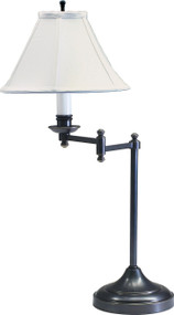 House of Troy Club Swing Arm Table Lamp - Oil Rubbed Bronze