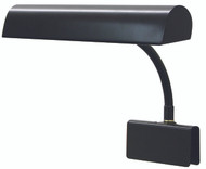House of Troy Grand Piano Clamp Lamp - Black
