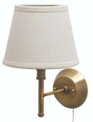 House of Troy Greensboro Pin-up Wall Lamp - Antique Brass