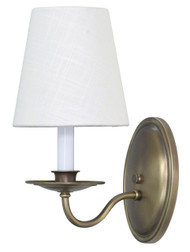 House of Troy Lake Shore Wall Sconce - Antique Brass