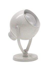 House of Troy Advent Portable Spot Light - White