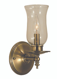 "Framburg Lighting 10.5"" 1-Light Brushed Nickel Sheraton Sconce"