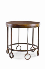 Century Furniture Bob Timberlake Home for Century Lamp Table With Metal Base T29-632