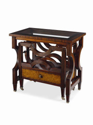 Century Furniture Monarch Nesting Bookrack Canterbury Table MN5171