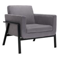 Zuo Modern Homestead Lounge Chair Gray