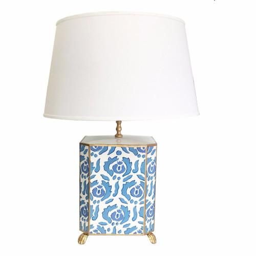 Dana Gibson Beaufont Lamp in Blue