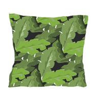 "Dana Gibson Palm Leaf Pillow 22"""
