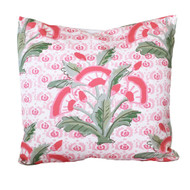 "Dana Gibson Mughal Fleur in Pink 22"" Square"