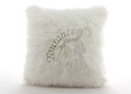 Tourance Australian Sheep Square Pillow in Ivory