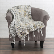 "Cloud9 Design Nora Throw 50""x60"" Size Throw NORATHR-GYGD"