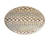 Dana Gibson Python Platter in Natural