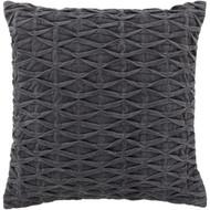 Chandra Rugs CUS-28010 Cotton/Velvet Handmade Contemporary Pillows